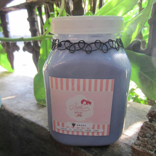 Hair Creambath Anggur/Grape Laklara