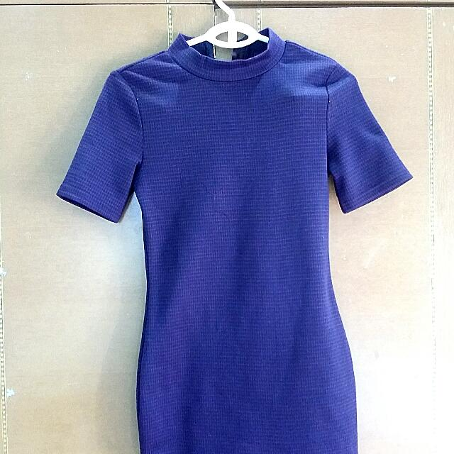 High Neck Kitchen Dress