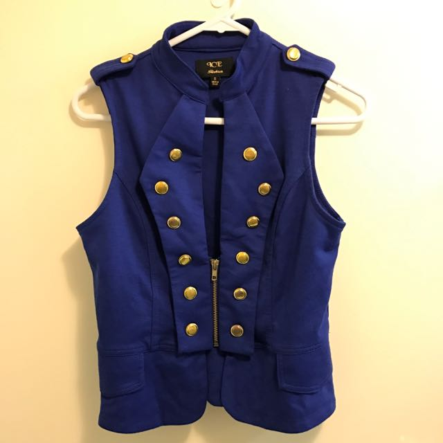 ICE Navy Blue Vest