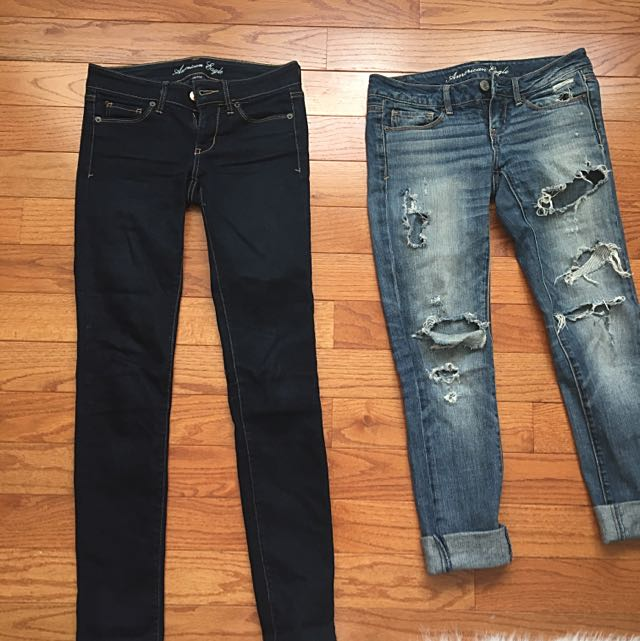 Jeans - American Eagle, Hollister, Buffalo