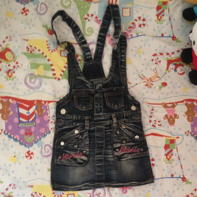Jeans Overall Anak