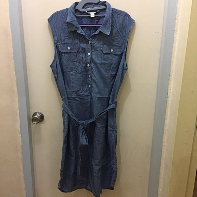 Jones New York Jeans Denim Dress