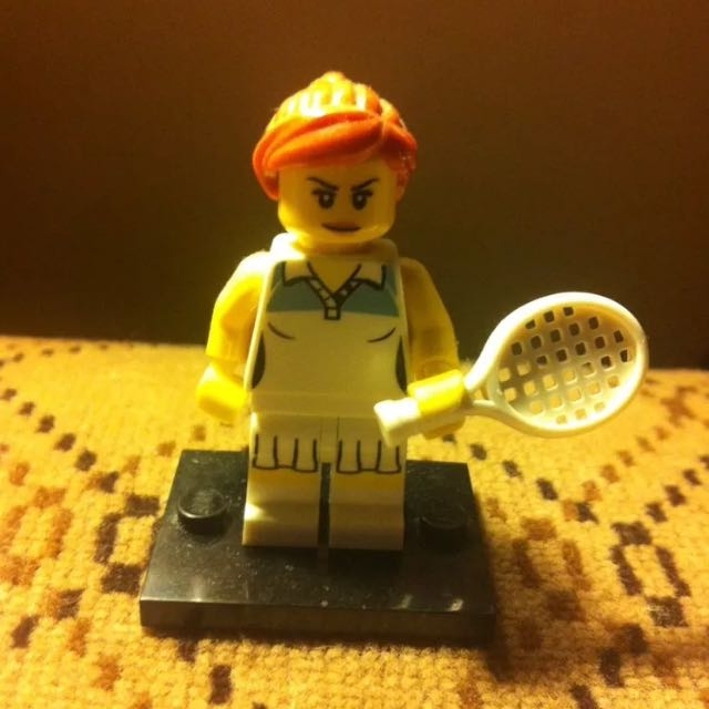 Lego Collectable Minifigure - Tennis Player - Series 3