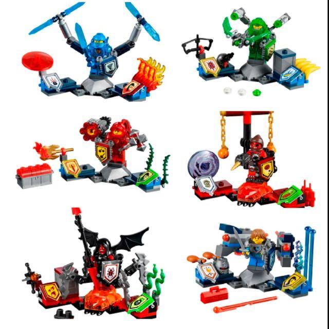 Lego Nexo Knights - 7 Sets