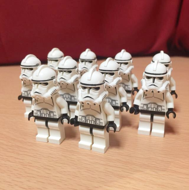 lego star wars phase 2 clone troopers toys amp games