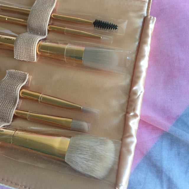 Limited Edition Sephora Rose Gold Double Ended Brush Roll
