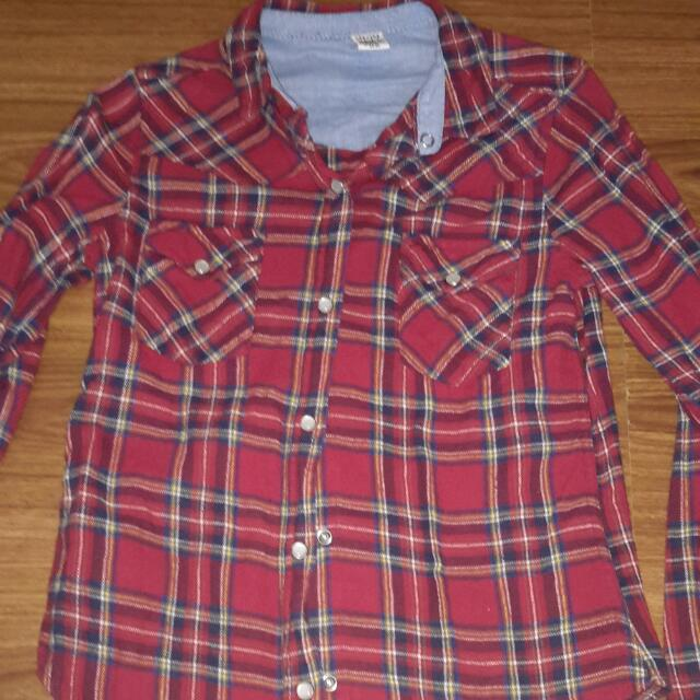 Rebel Button Down Long Sleeves
