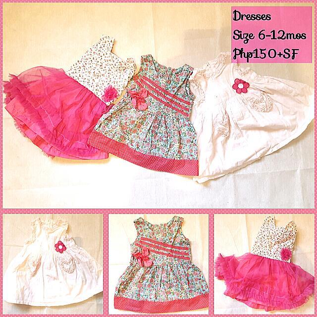 Lot Of 3 Dresses
