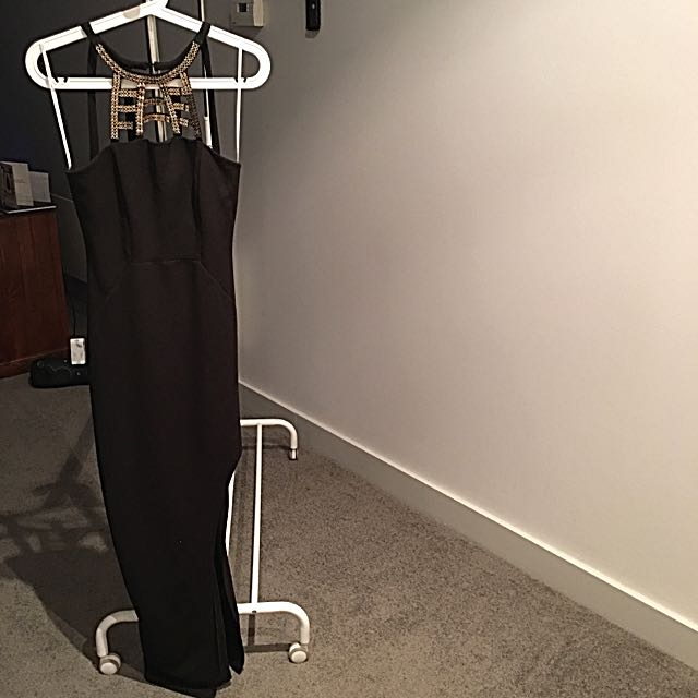 Lumie'r By Bariano Total Eclipse Splice Maxi Dress