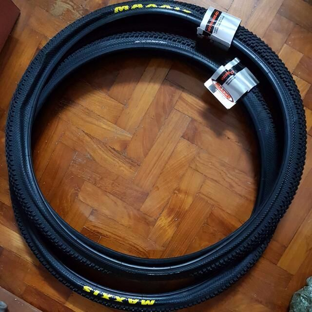 Maxxis Bicycle Tires 26 Inch 27 5 Inch Brand New Bicycles