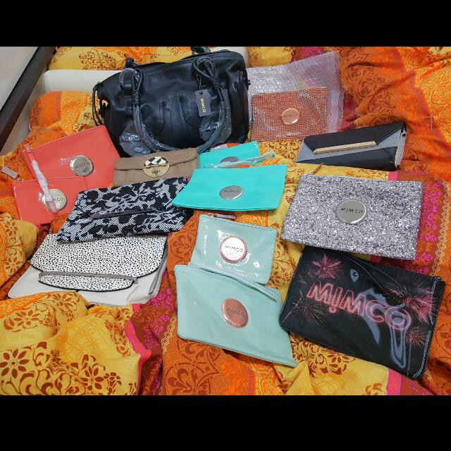 MIMCO Wallets Pouches Clutches Bags