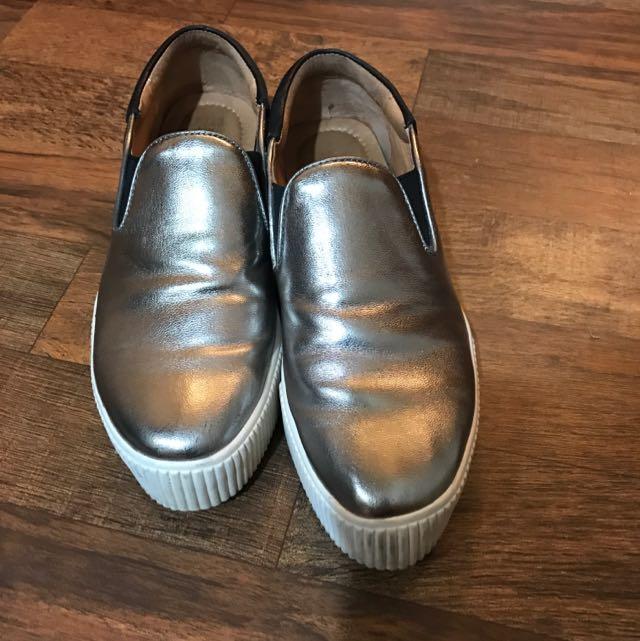 Miss21真皮時尚便鞋