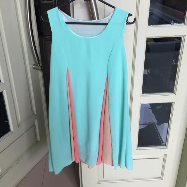 Multicolour Dress Sleeveless