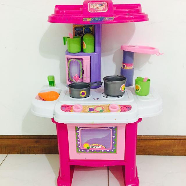 myfirst kitchen set, toys & games, bricks & figurines on carousell