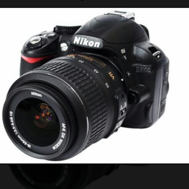Nikon D3100/cannon 1100d