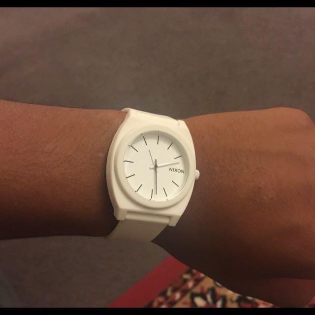 Nixon Time teller P (white)