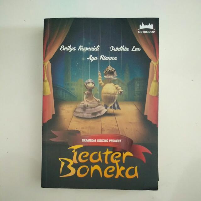 Novel Teater Boneka Metropop