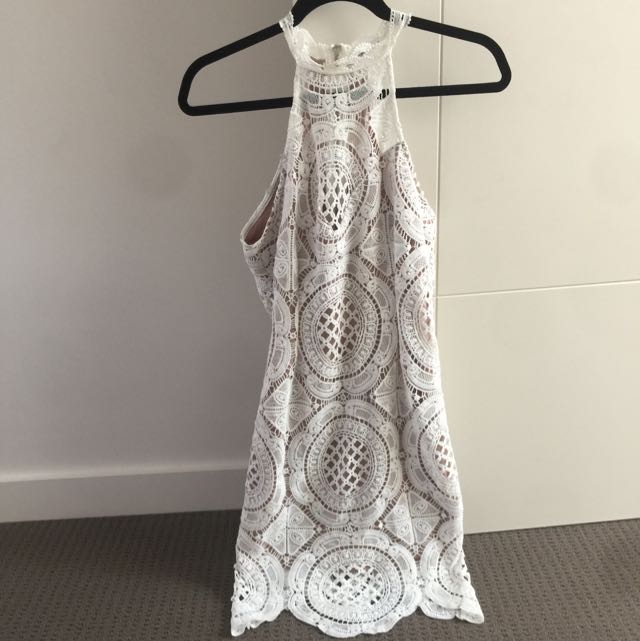 Off White Lace Dress Size 12