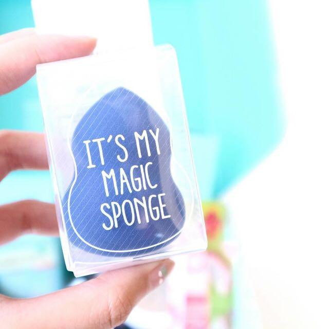 [ORI] ITS MY MAGIC SPONGE / Beauty blender Make up puff powder spons