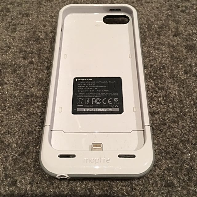 Original Mophie Juice Pack Case For iPhone 5/5s