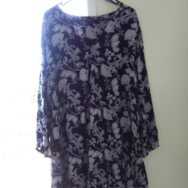 Pagani purple dress - size 16 - $15