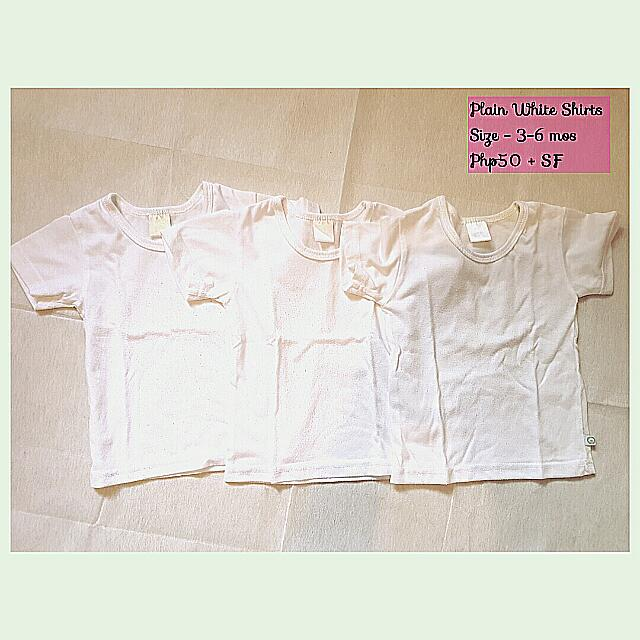 Plain White Shirts