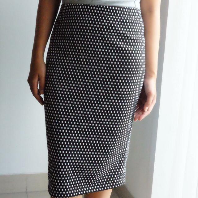Polkadot Pan Skirt