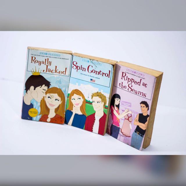 PRE-LOVED BOOKS