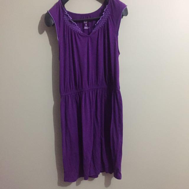 Purple Dress (no Brand)