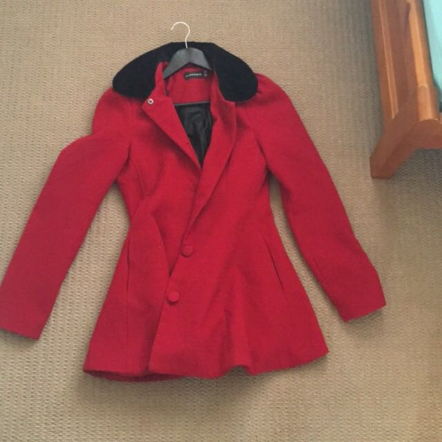 Red Glassons Winter Jacket