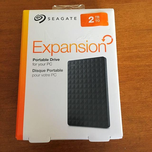 Seagate 2 TB Portable Hard Drive