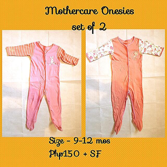 Set Of 2 Onesies