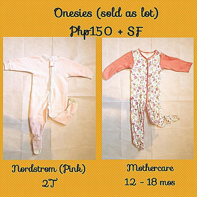 Set Of Onesies