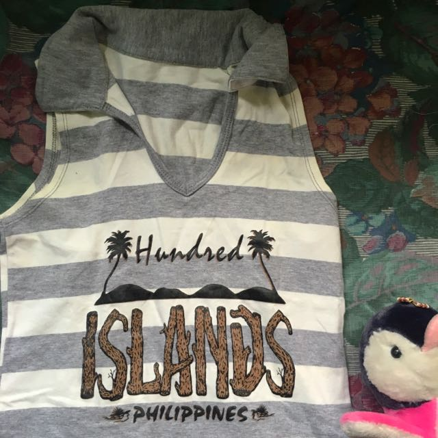Sleeveless Poloshirt Hundred Island