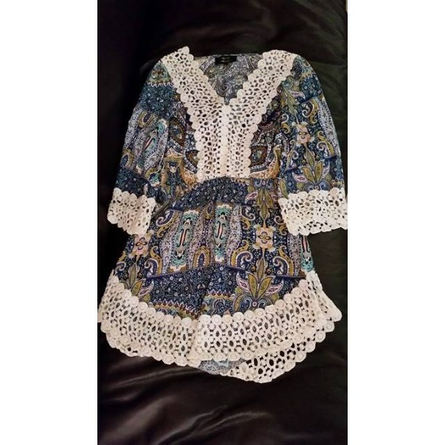 Small Size Women's Printed Spring/Summer Dresses