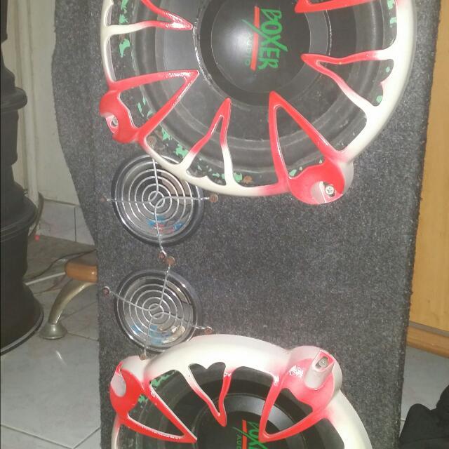"""Speaker Box BOXER 10"""""""