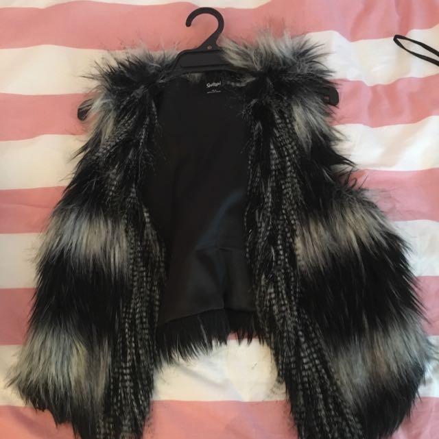 Sports Girl Fur Jacket