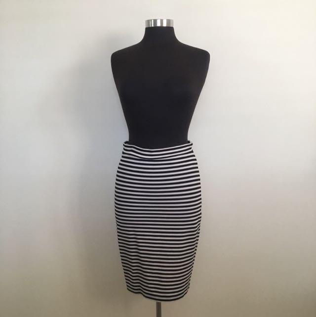 Staple The Label Midi Skirt
