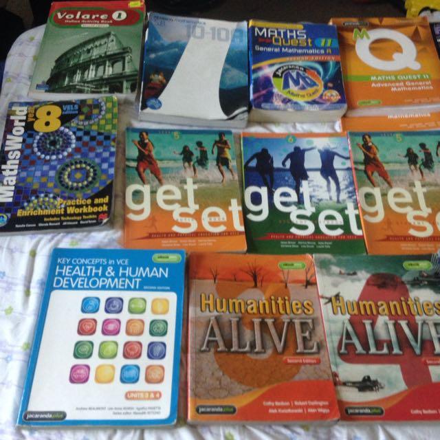 Textbooks, Novels, Checkpoints