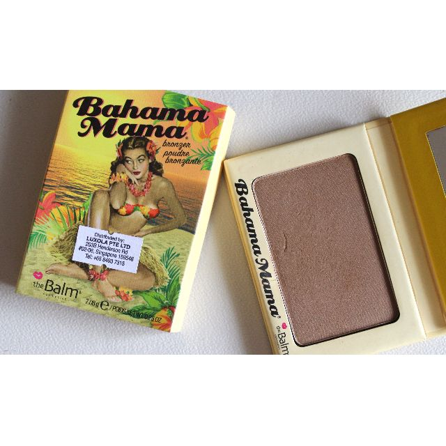 The Balm Bahama Mama Bronzer Shadow Countour Powder