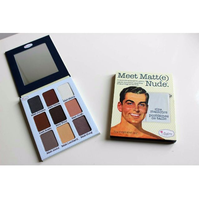 THE BALM NUDE PALLETE MEET MATTE NUDE EYESHADOW