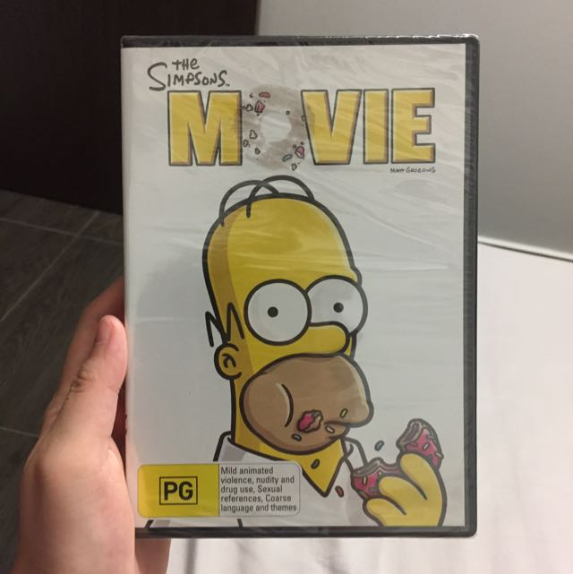 The Simpsons Movie Music Media Cds Dvds Other Media On Carousell