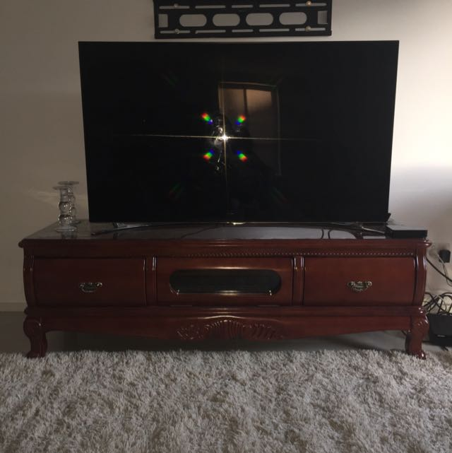 Timber Tv Table
