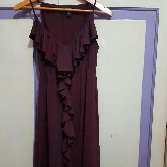 Worthington Maroon Dress