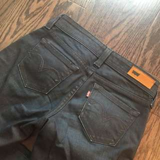 Almost New LEVIS Dark Blue jeans