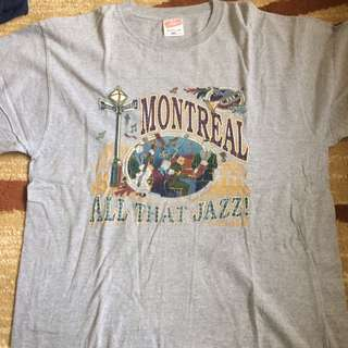montreal jazz tee 🎷