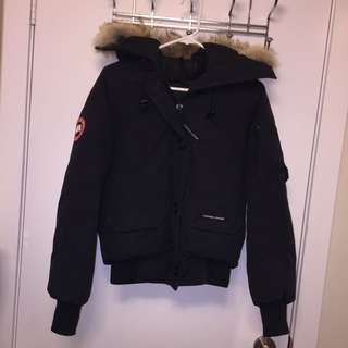 Women's Small Canada Goose Bomber Coat