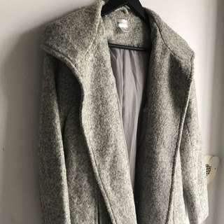 Brand New Grey Wool Jacket