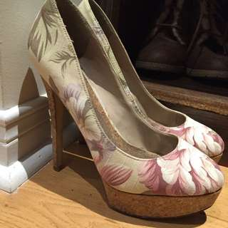 Floral Also Heels