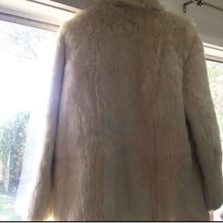 💯 Authentic Rabbit Fur Jacket